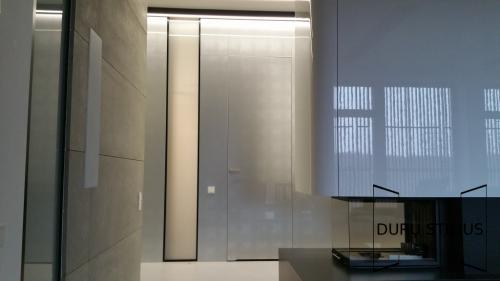 Durys - stiklas ir akrilas 13