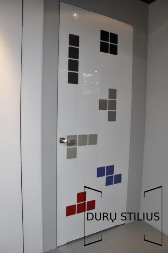 Durys - stiklas ir akrilas 3