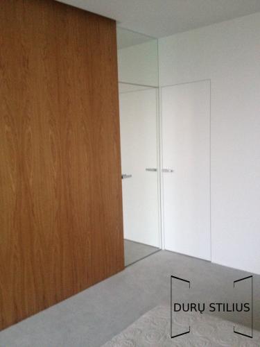 Durys - stiklas ir akrilas 48